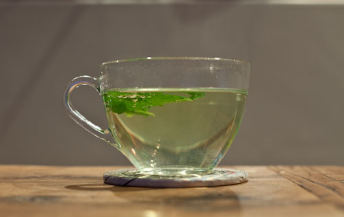 Home Grown Mint Tea
